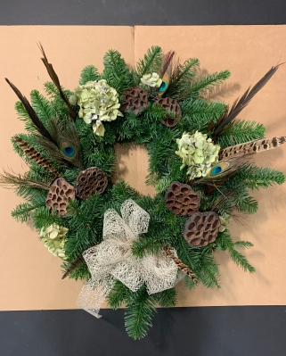 Feathers Wreath